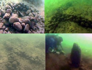 Underwater Structures of Rock Lake