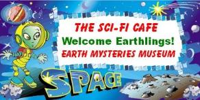 Join us and have some fun at the SCI FI CAFE in Burlington, WI