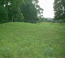 These are the effigy mounds found near the crop circle.  Photo by Burlington Paranormal and UFO Center